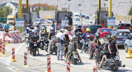 Od 3 do 7 tisuća kuna kazne za motocikliste koji Krčki most plaćaju u lipama