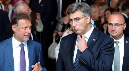 """Plenković o Pavelićevoj slici kod Kuščevića: """"Ne mogu vjerovati"""""""