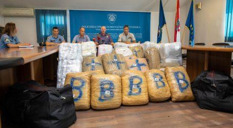 OVOGODIŠNJI REKORD: Policija na Karasovićima zaplijenila 340 kilograma marihuane