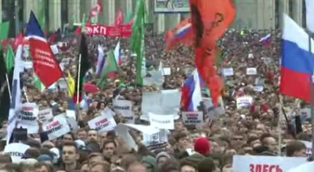 Tisuće Rusa prosvjeduje zahtijevajući slobodne izbore