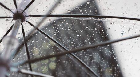 Stiže naoblačenje s kišom, očekujte pljuskove s grmljavinom