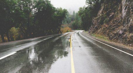 Jak vjetar i mokri kolnici usporavaju promet, nesreća na A3