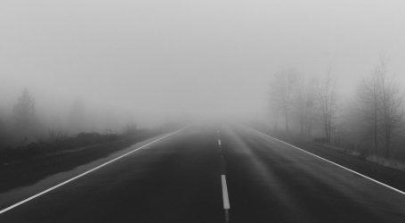 Magla smanjuje vidljivost, prometna nesreća na A1