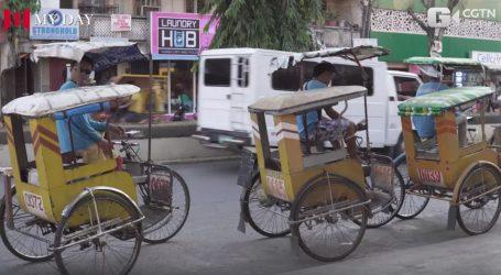 VIDEO: Posao taksista na biciklu