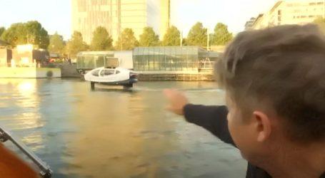 VIDEO: Leteći taxi testiran na rijeci Seni