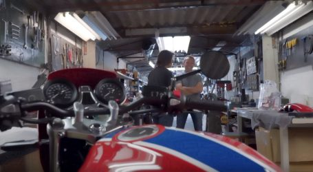 VIDEO: Guy Willison priča o custom modelu CB RS 5Four