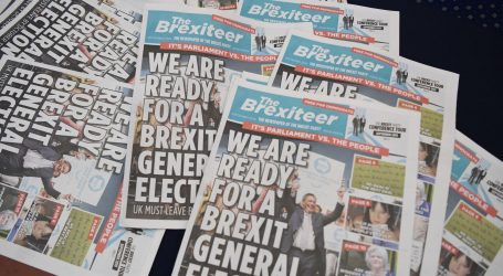 "FARAGE: ""Brexit će biti odgođen"""