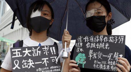 Hongkonški studenti i učenici počeli bojkot nakon nasilnog vikenda