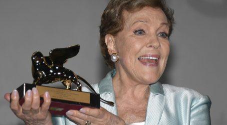 Julie Andrews dobila Zlatnog lava za životno djelo na Mostri