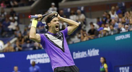US OPEN: Dimitrov izbacio Federera