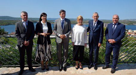 Grabar-Kitarović, Pahor i Van der Bellen u Šibeniku