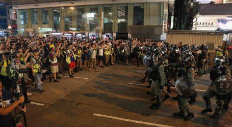 """HONG KONG Prosvjednici pozvali Trumpa da """"oslobodi"""" grad"""