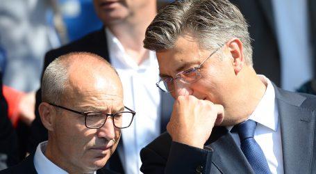 """PLENKOVIĆ: """"Krstičević nije ponudio ostavku, osobno je pogođen, razgovarat ćemo"""""""
