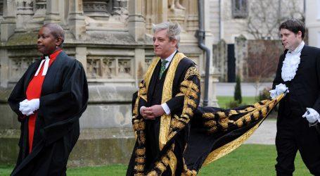 """Predsjednik britanskog parlamenta: """"Zasjedanje Donjega doma započinje u srijedu"""""""