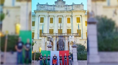 Documenta osudila postavljanja zastave Kraljevine Italije na Guvernerovoj palači u Rijeci
