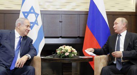 Netanyahu u Rusiji izjavio da Izrael mora imati slobodu djelovanja protiv Irana