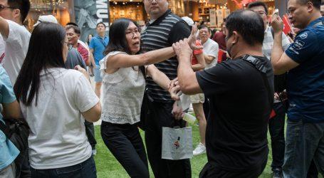 HONG KONG Policija rastjerala nekoliko manjih prosvjeda