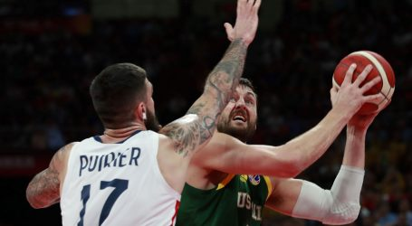 SP košarka: Francuzi brončani, Australci uplakani