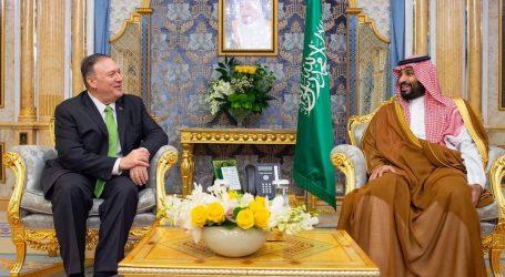 """Pompeo kaže da su napadi u Saudijskoj Arabiji """"ratni čin"""""""