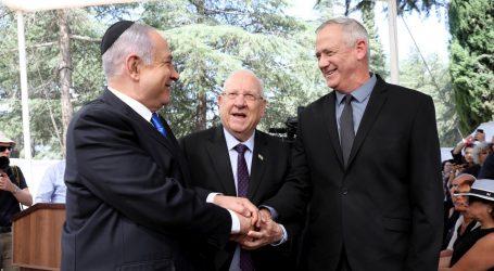 Izraelski predsjednik počeo konzultacije s Netanyahuom i Gantzom