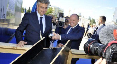 U Rijeci počela gradnja nove bolnice, Plenković položio temeljni kamen