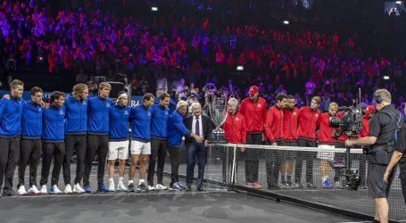 Laver Cup: Nakon prvog dana Europa protiv Svijeta vodi 3:1