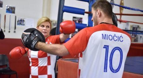 Predsjednica u Clevelandu 'odmjerila snage' sa Stipom Miočićem