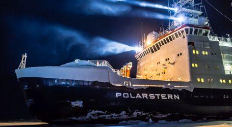 Brod Polarstern u najvećoj ekspediciji na Arktiku