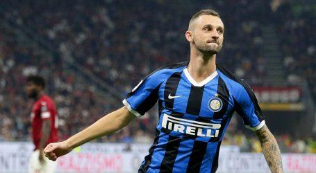 "Interu ""Derby della Madonnina"", pogodak Brozovića"