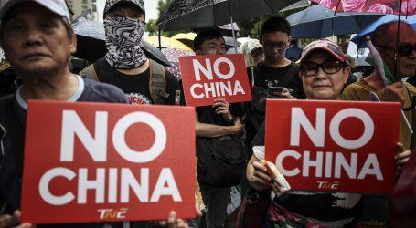 Prosvjedi na Tajvanu u znak solidarnosti s Hong Kongom
