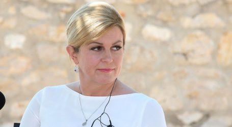 """Ured predsjednice: """"Bilateralnog sastanka s Dačićem nije bilo, sreli su se na hodniku"""""""