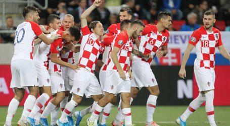 Hrvatska reprezentacija doputovala u Baku