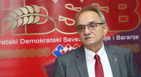 """GLAVAŠ: """"Nemam ništa protiv SDSS-a, ali vrijeme je da se Pupovac konačno makne iz politike"""""""
