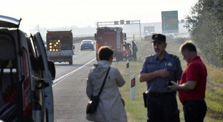 Policija objavila detalje nesreće na A3, u prevrnutom automobilu izgorjelo dvoje ljudi