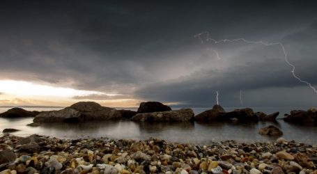 Grmljavinsko nevrijeme zahvatilo Istru, nastala velika materijalna šteta