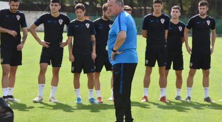 U21: Hrvatska – Škotska, početne postave