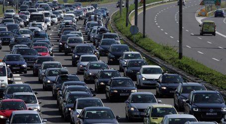 Krajem kolovoza i početkom rujna na autocestama više vozila nego lani
