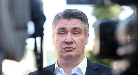 MILANOVIĆ 'Bit ću najbolji prijateljAndreja Plenkovićadok bude premijer'
