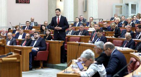 Saborski zastupnici danas raspravljaju o prijedlogu ovršnog zakona