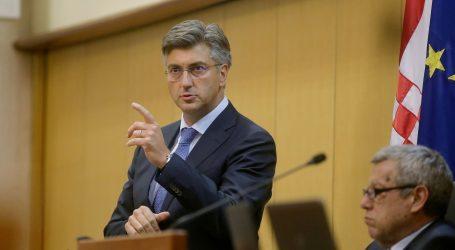 Plenković u izvješću o radu Europskog vijeća hvalio hrvatske uspjehe