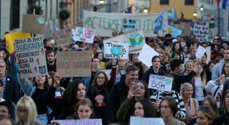 I hrvatska mladež priključila se prosvjedima za klimu i svoju budućnost