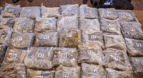 Srbijanska policija na granci s Bugarskom zaplijenila tonu i pol marihuane