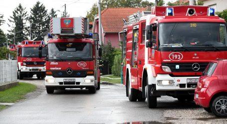 Izbio požar na krovu stare ciglane Zagreb