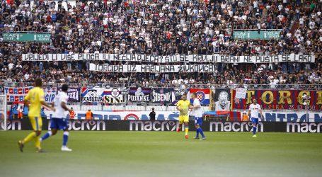 Delegatu Zečeviću zanimljivi Torcidini transparenti