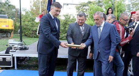 Markač, Plenković i Bandić položili kamen temeljac za Spomenik domovini