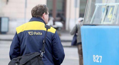 Hrvatska pošta u ponedjeljak ponovno otvara vrata 14 ureda