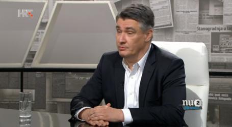 MILANOVIĆ 'Plenković nema veze s HDZ-om, bolje mu je da šutim'