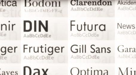 VIDEO: Zanimljivo predavanje o fontovima