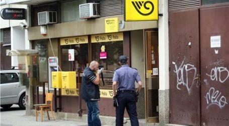 Opljačkana pošta na Trešnjevci