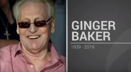 Kolege se opraštaju od bubnjara Gingera Bakera